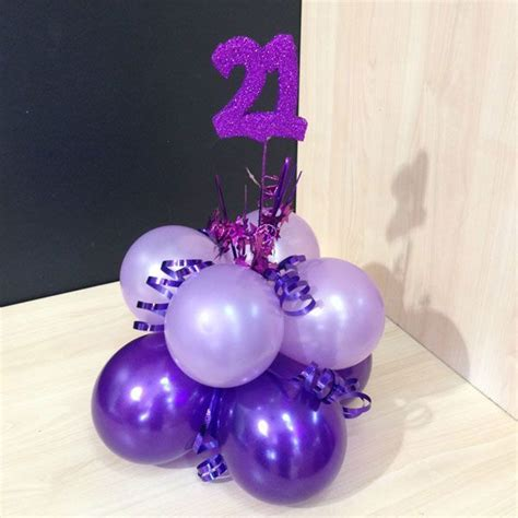centerpiece 21st birthday ideas