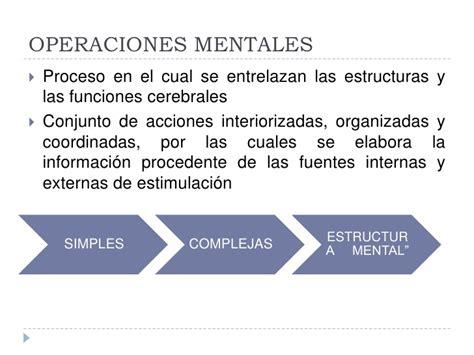 Imagenes De Operaciones Mentales | operaciones mentales