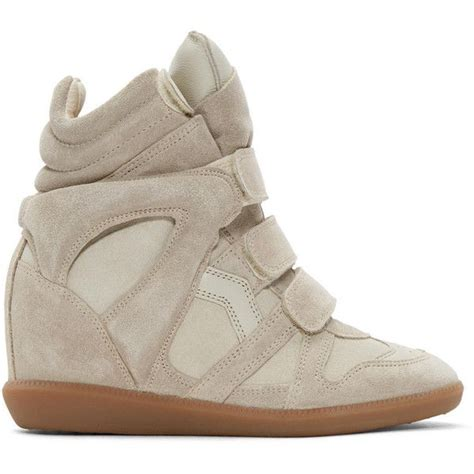Verkauf Schuhe Marant Suede Und Leder Wedge Turnschuhe Licht Blau Sehen Sie Billig P 295 die besten 25 wedge sneaker ideen auf