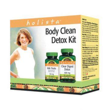 Where To Get A Detox Kit by Holista Clean Detox Kit 1 Kit Longevity Shoppe