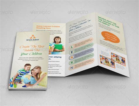 school brochure template school brochure 22 in psd vector pdf
