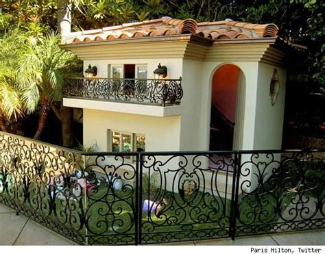 paris hilton dogs house untreehugger paris hilton s 325 000 dog mansion treehugger