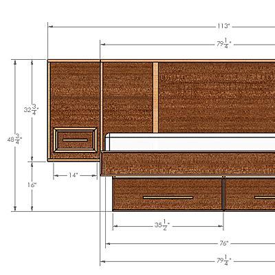 modern bed plans make a mid century modern bed frame build plans buildxyz