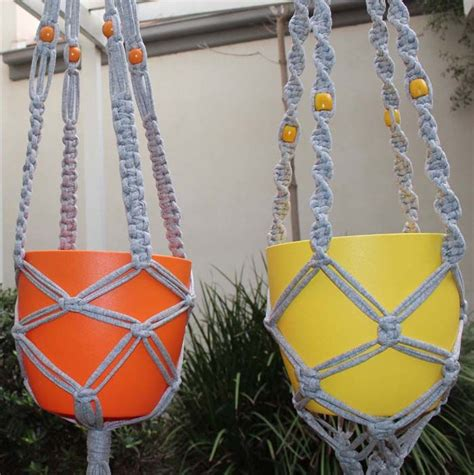 Simple Macrame Patterns - 25 best ideas about macrame plant hanger patterns on