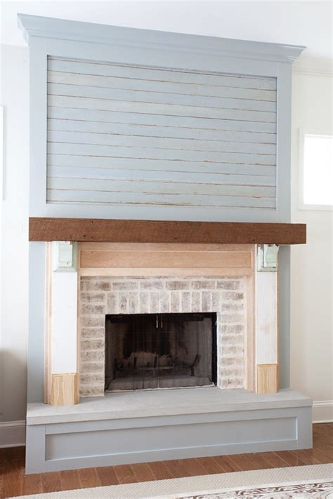 Lettered Cottage Fireplace by Fireplace Update Mantel Surround The Lettered Cottage