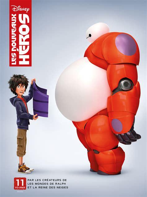 Film Disney Les Nouveaux Heros | les nouveaux h 233 ros deux affiches in 233 dites du prochain
