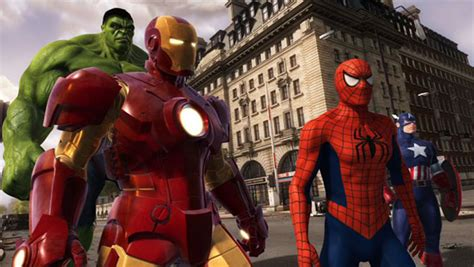 marvel ironman and hulk in film marvel super heroes 4d saves the day at madame tussauds