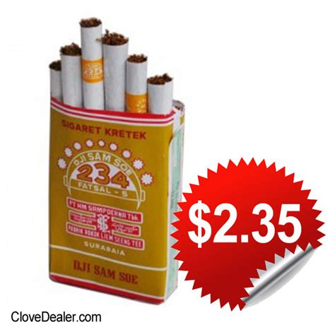 Dji Sam Soe Hitam clove cigarettes djarum clove cigarettes