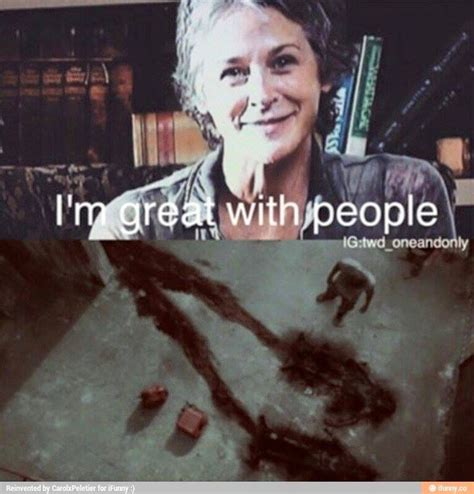 Walking Dead Carol Meme - 191 best images about dead inside on pinterest dead