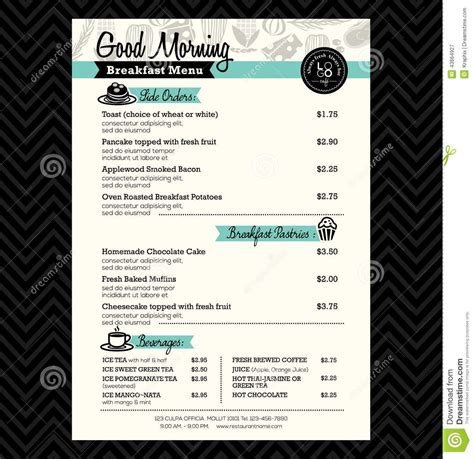 Breakfast Menu Design Ideas Google Search Menu Design Pinterest Menu Menu Board Design Brunch Menu Template