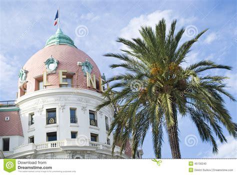 hotel la cupola cupola dell hotel di negresco nizza immagine editoriale