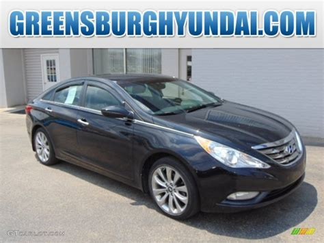 2011 Hyundai Sonata Limited Specs by 2011 Midnight Black Hyundai Sonata Limited 2 0t 94950813