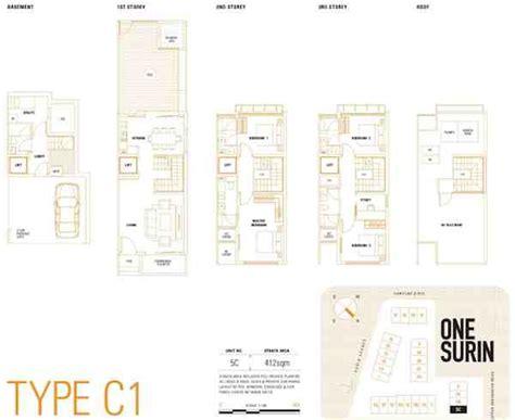 one surin floor plan one surin showflat hotline 65 6100 1778 call now
