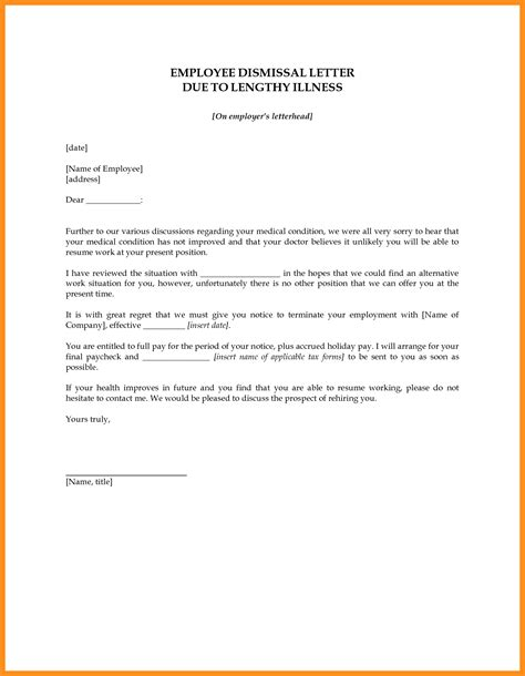 Release Letter For Work 8 Employee Release Letter Sle Fillin Resume