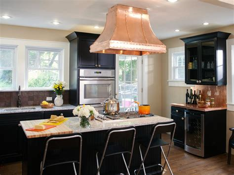 Kitchens With Black Cabinets Black Kitchen Cabinets Pictures Ideas Tips From Hgtv Hgtv