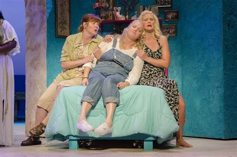 Mamamia Overall review playhouse s mamma is 2 hours of musical