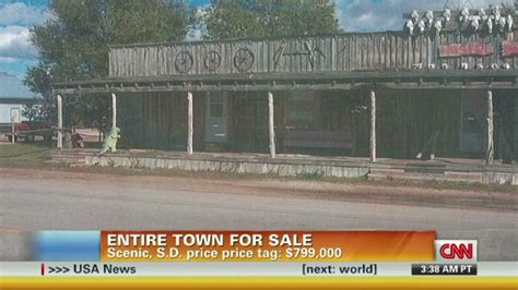 town for sale got 799 000 you could buy a town in south dakota cnn com