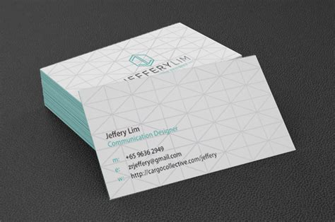 Wall Mural Poster personal name card jeffery lim