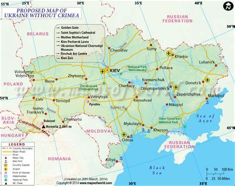 ukraine map map  ukraine