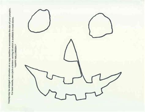 o lantern mask template 1978 pumpkin