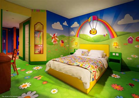 rooms to go bedrooms alton towers cbeebies land hotel themed bedrooms unveiled