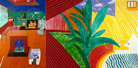 Pool House Bar by If You Do One Thing In 2017 Make Sure You See David Hockney At Tate Britain