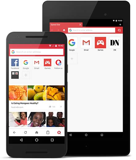 opera android opera mini for android phone tablet opera