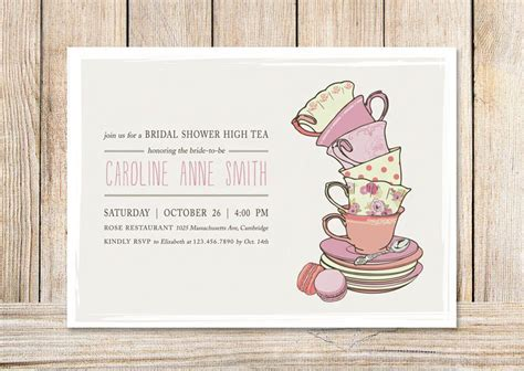 13 best images about tea party invitation inspiration