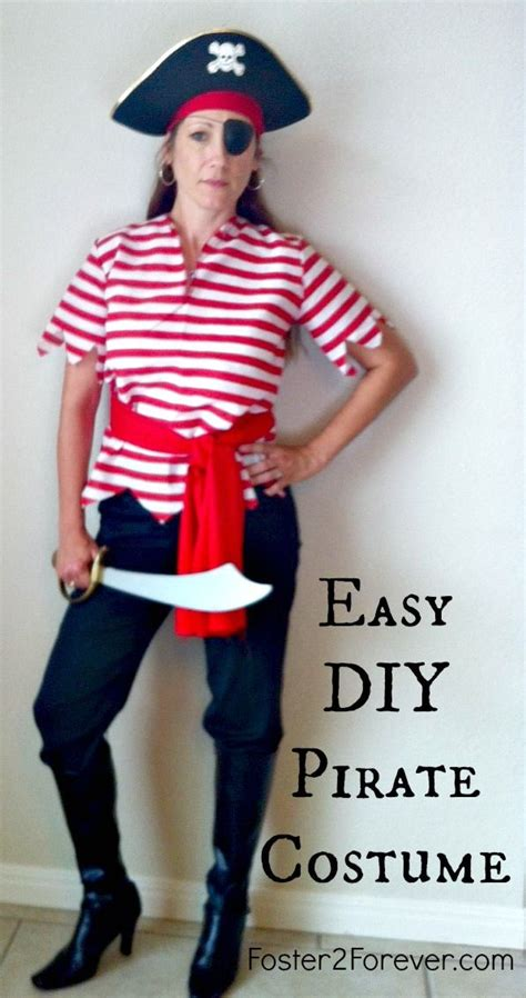 Handmade Pirate Costume - our disney cruise pirate costumes disney