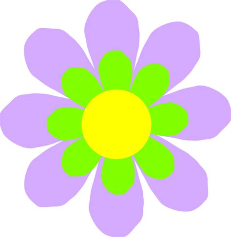 flower clipart lilac flower clip at clker vector clip