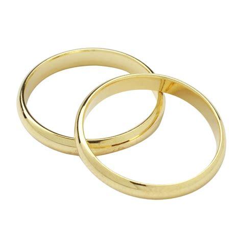 gold colour wedding rings 18mm culpitt