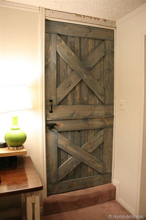 Make A Door by How To Build A Barn Door Diy Projects For Everyone