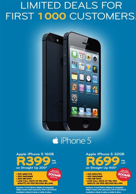 iphone c price iphone 5 special prices from cell c