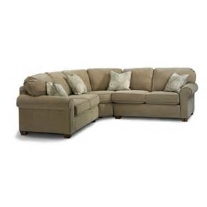Flexsteel Sectional Sofa Flexsteel 3535 Sect Thornton Sectional Discount Furniture At Hickory Park Furniture Galleries
