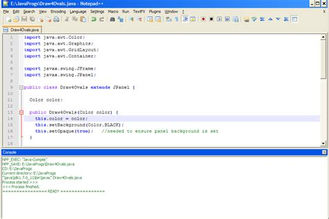 java awt and swing tutorial basic steps java simple awt swing on notepad