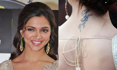 deepika padukone tattoo photos deepika padukone photos