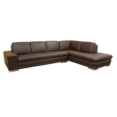 Wholesale Leather Couches by Wholesale Interiors Callidora Leather Sofa Sectional Brown 766 Sofa Lying M9256