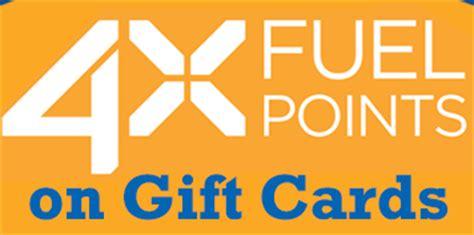 Kroger Bonus Fuel Points Gift Cards - kroger 4 x fuel points earned on gift cards southern savers