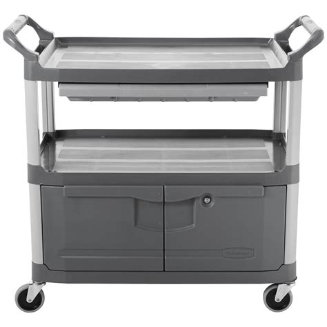 Rubbermaid Large Drawer by Rubbermaid Fg409400gray Xtra Gray 300 Lb Instrument Cart