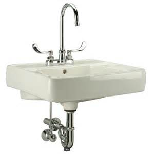 wall mounted bathroom sink faucet wall mounted bathroom sink wayfair