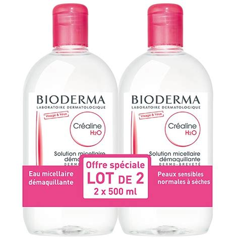 Bioderna Sensibio Cleanser H20 500ml bioderma sensibio h20 micelle solution 500ml duo pack