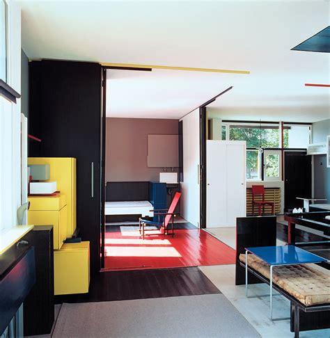 Schroder House Interior by Schroeder House In Utrecht