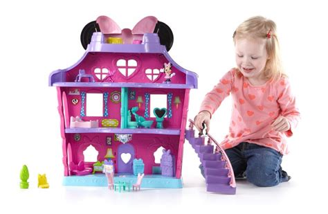 minnie doll house fisher price minnie mouse minnie 039 s bow sweet home kids play toy dollhouse new ebay