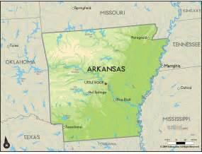 arkansas map free large images
