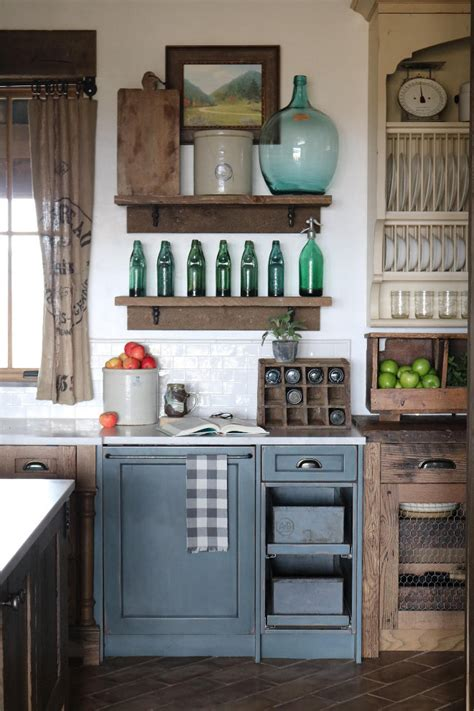 Rustic Painted Kitchen Cabinets patio ideas interior design ideas home bunch