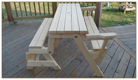 picnic table bench combo folding bench and picnic table combo