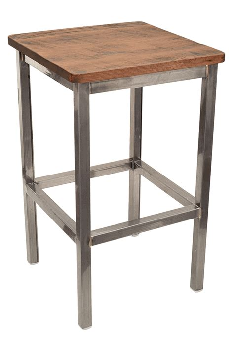 Gladiator Commercial Bar Stools by Gladiator Commercial Grade Square Backless Bar Stool