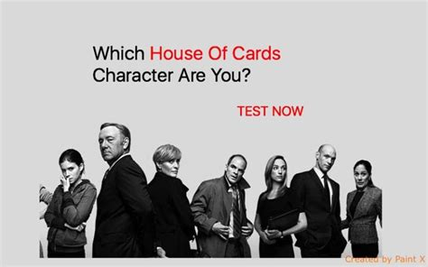 house of cards characters which house of cards character are you quiz for fans