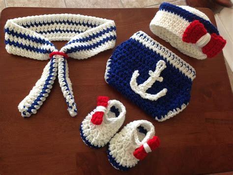 Handmade Beanies For Babies - handmade crochet hat navy style baby beanies newborn