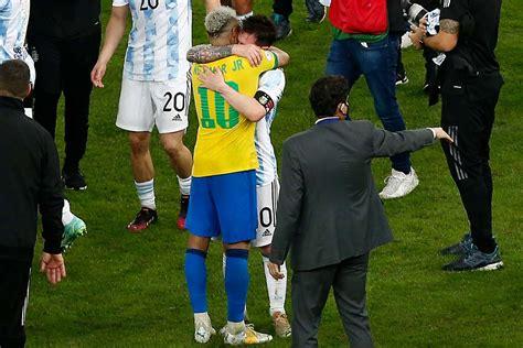 conmebol selects  messi  neymar    players  copa america  technosports